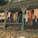 Washday Alton New Hampshire by Wayne King