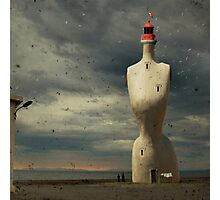 French surreal lighthouse Photographic Print