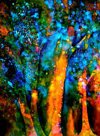  Trees...Imagination by  Janis Zroback