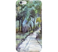 Another forest path iPhone Case/Skin