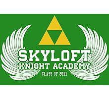 Skyloft Knight Academy '11 Photographic Print