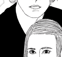 Ahs Coven Kyle Spencer and Zoe Benson Sticker