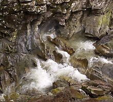 Wet Rock Formations by PigleT