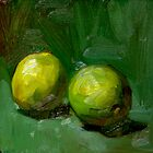 Limes on Green by Les Castellanos