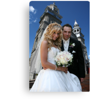 Wedding Bells! Canvas Print