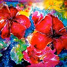 Tropics..Hibiscus Morning by  Janis Zroback