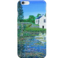 The Cottage on Crinan Canal iPhone Case/Skin