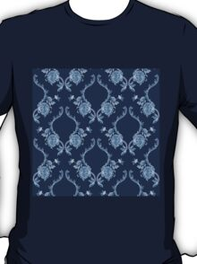 Elegance Seamless pattern with flowers ornament T-Shirt