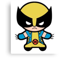 Funny Wolverine Canvas Print