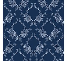 Elegance Seamless pattern with flowers ornament Photographic Print