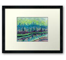 Madison River Framed Print