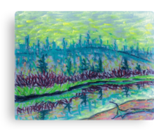 Madison River Canvas Print
