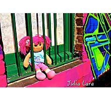 Back Alley Jailbait Doll  Photographic Print