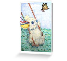 Pooky Swing Greeting Card