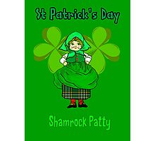 Shamrock Patty ready for St Patrick's Day Photographic Print