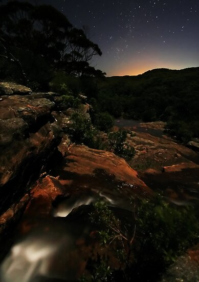 Moonlight Sonata by Geoff  Coleman - Landscapes