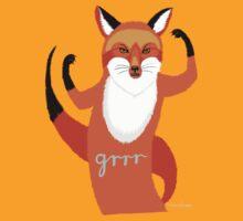 A fox's revenge by kernelcopia