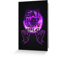 Gloving - Emazing Lights LED (Purple) Greeting Card