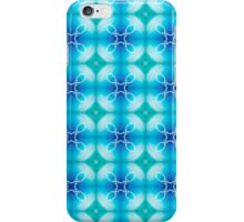 """Texture """"east pattern"""" the blue iPhone Case/Skin"""