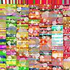 Multicolored polka by dominiquelandau