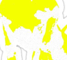 pitbull monster Sticker