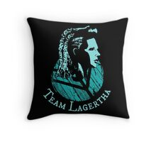 Team Lagertha - Vikings Throw Pillow