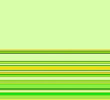 Key Lime Green Ribbon by MarkAntum