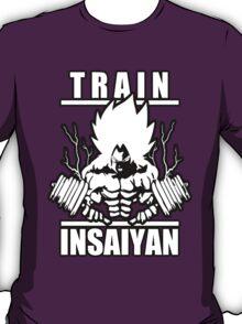 Train Insaiyan - Super Saiyan Goku  T-Shirt