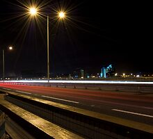 Night Carriageway by Swell Photography
