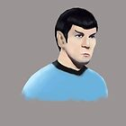 Spock by mikethefanman