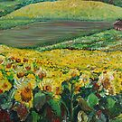 Sunflowers in Provence by Nadine Rippelmeyer