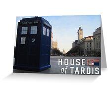 House of TARDIS Greeting Card