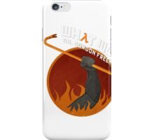What would Dr. Gordon Freeman do? iPhone Case/Skin