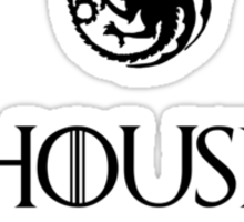 House Targaryen - Game of thrones Sticker
