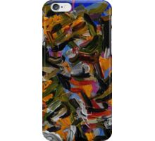 Colorful Abstract Art, Original Acrylic Painting  iPhone Case/Skin