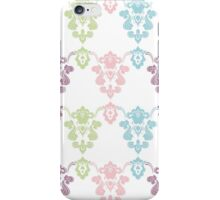 Colorful vintage ornament. Luxury pattern iPhone Case/Skin