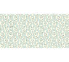 Vintage wallpaper. Delicate veil-like pattern. Photographic Print