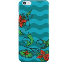 Abstract colorful floral ornament 2 iPhone Case/Skin