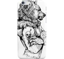 Wolf Rising Inks iPhone Case/Skin