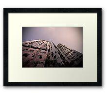 Hong Kong Highrise Framed Print
