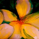 Tropics..Frangipani Night by © Janis Zroback