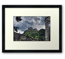 The Castle from St Cuthberts Framed Print