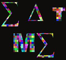 Eat Me, Color Squares by RubenW