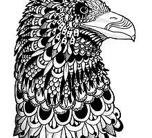 Eagle Head by Ragnheidur Asta Valgeirsdottir
