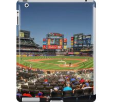 Take Me Out To The Ballgame iPad Case/Skin