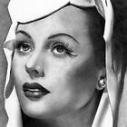 Hedy Lamarr by Karen Townsend