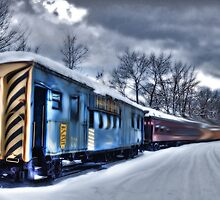 Ghost Train in an Existential Storm by Wayne King