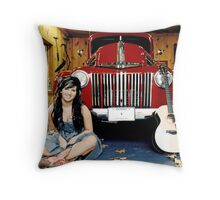 Miss Paige Gilvesy Throw Pillow