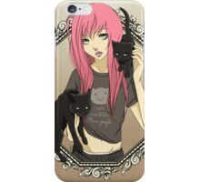 Cats are Better Than People iPhone Case/Skin