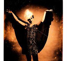 Winged Ella  by Mario  Scattoloni